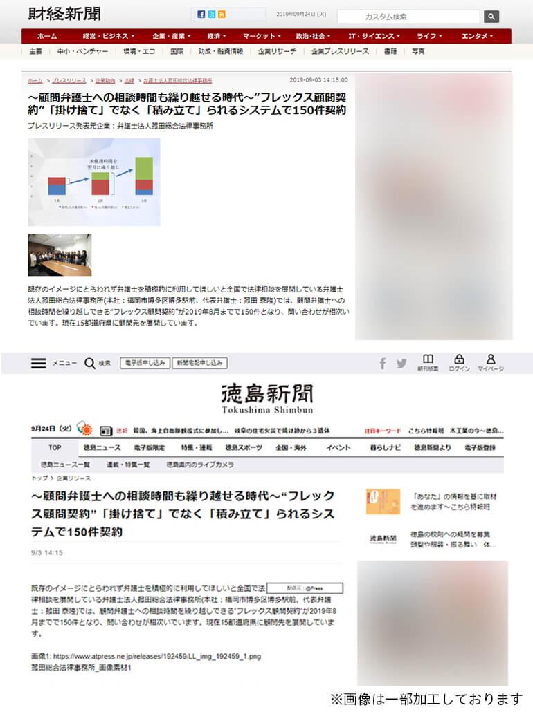 財経新聞・徳島新聞